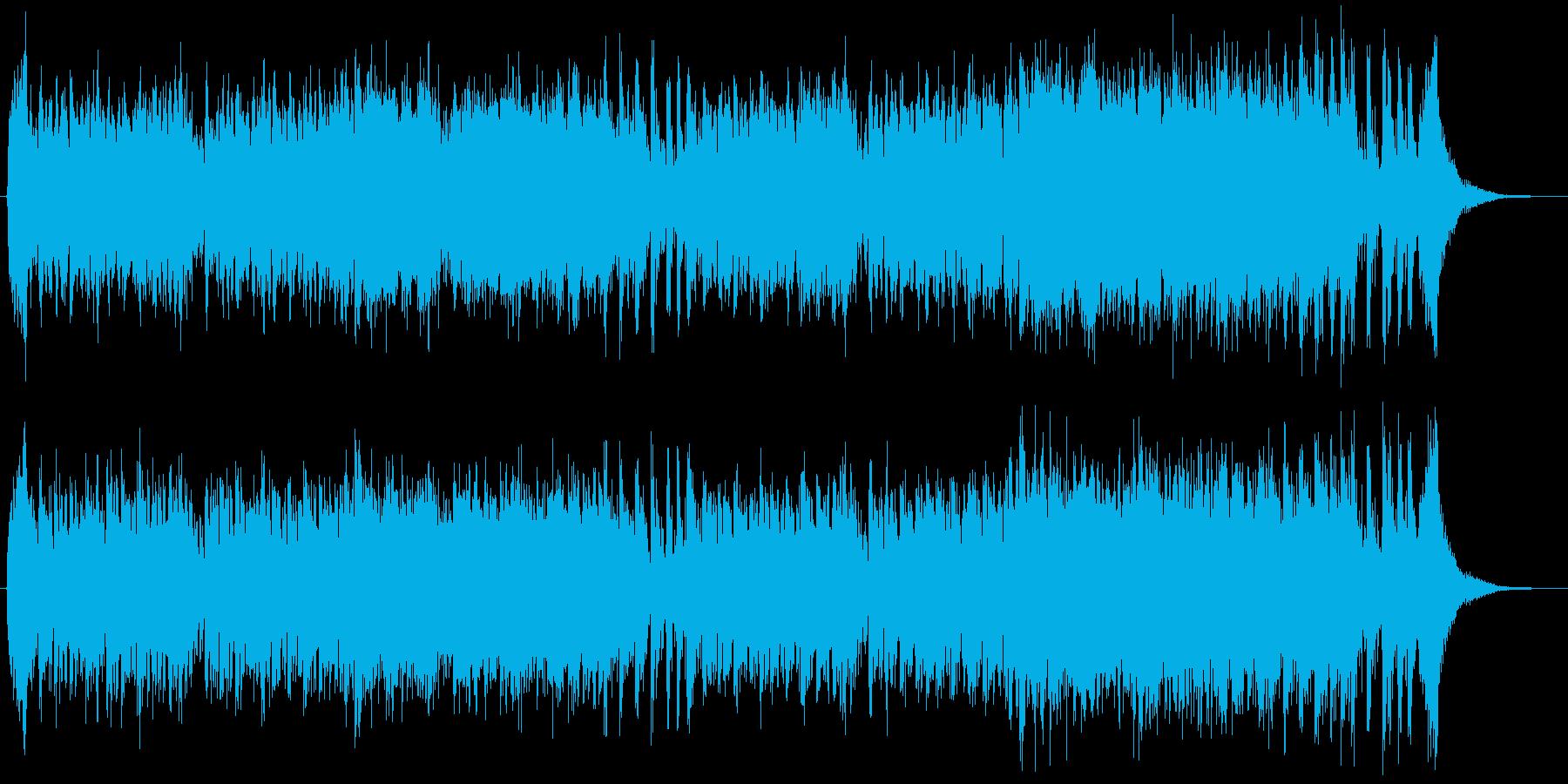 力強く明るい爽やかなファンファーレBGMの再生済みの波形