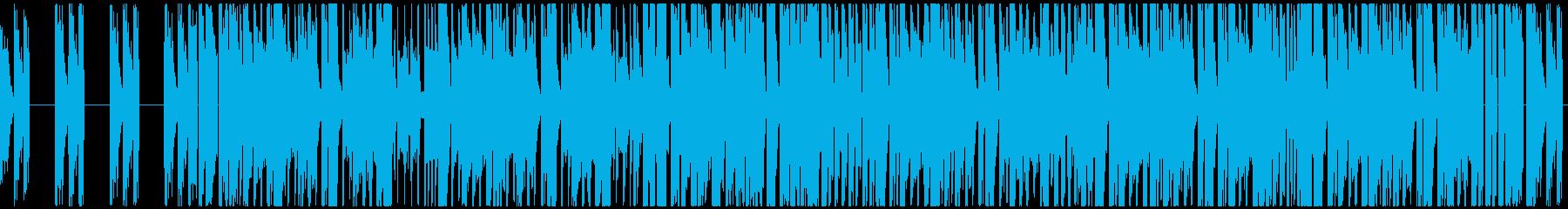 映画BGM等に使用出来るハード系サウンドの再生済みの波形