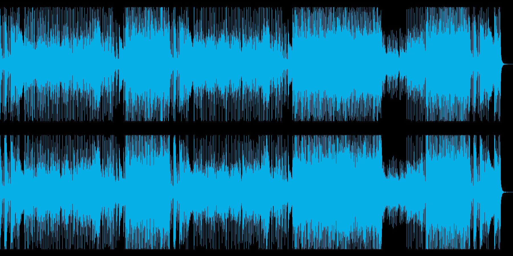 戦国時代をイメージした和風ロックの再生済みの波形