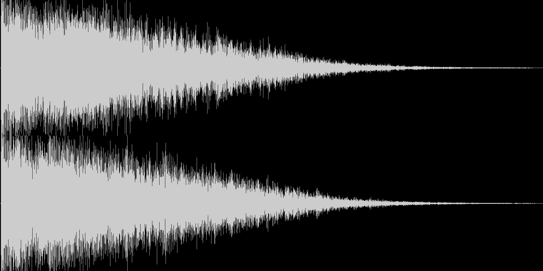 キラーン(ゲーム、アプリ等の決定音等に)の未再生の波形
