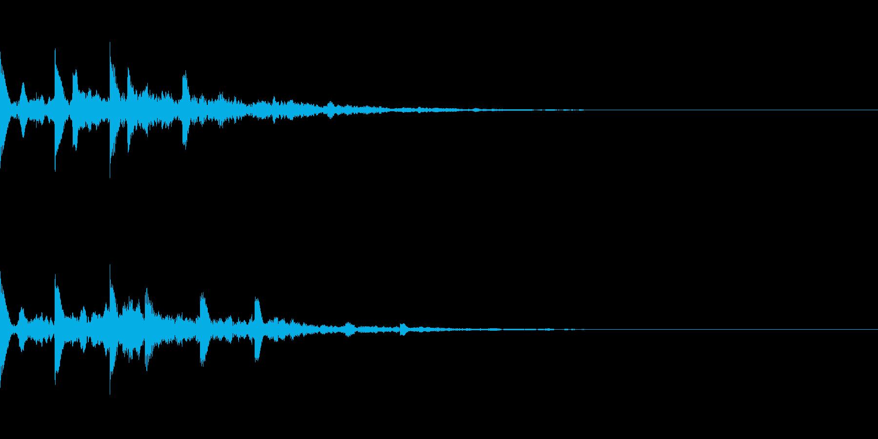 ニュース・お知らせ6の再生済みの波形