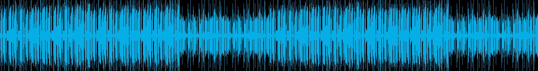 チルアウト、優しい、お洒落の再生済みの波形