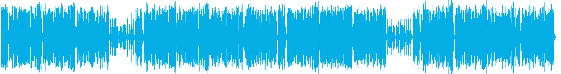 ファンタジーで楽しいシンセ管楽器サウンドの再生済みの波形