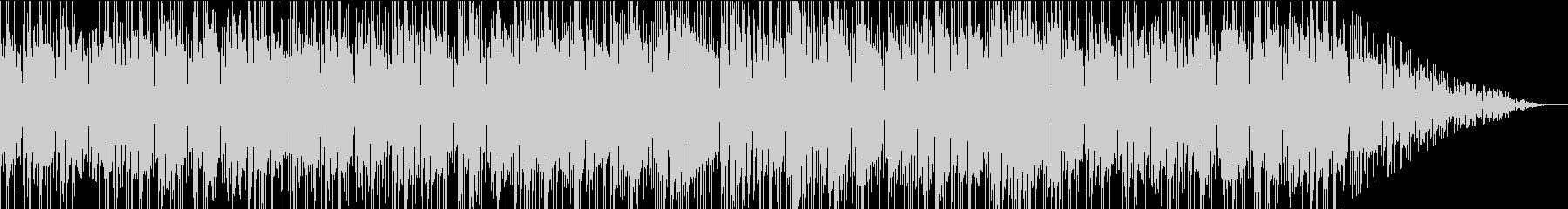 落ち着いたた雰囲気のお洒落なBGMの未再生の波形