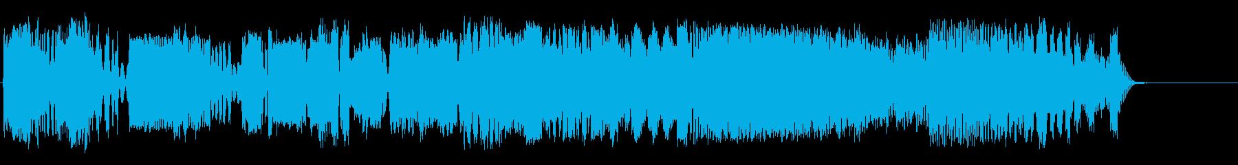 信号の衝突の再生済みの波形
