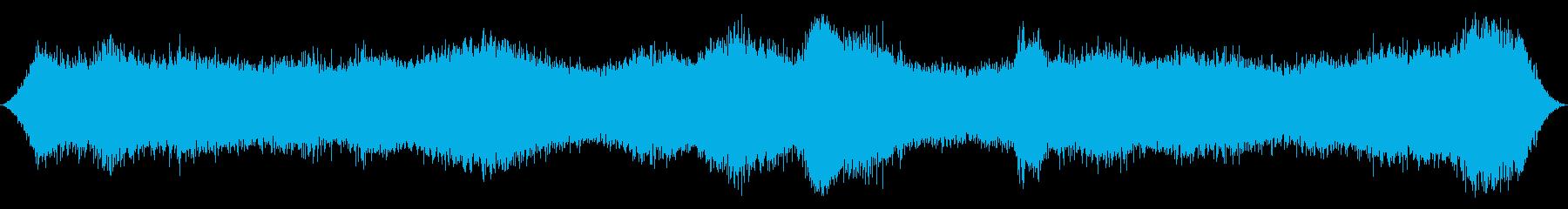 オーシャン:波が中から入り、重くな...の再生済みの波形