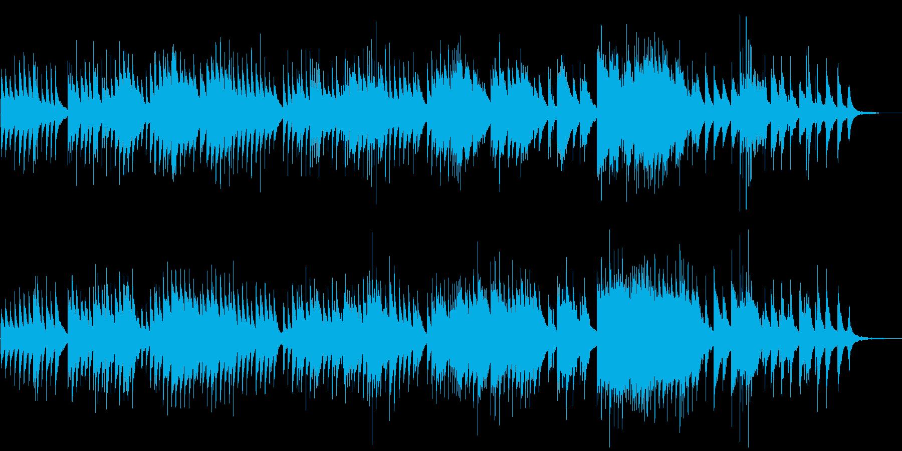 たくさん想いが詰まったまったりバラードの再生済みの波形
