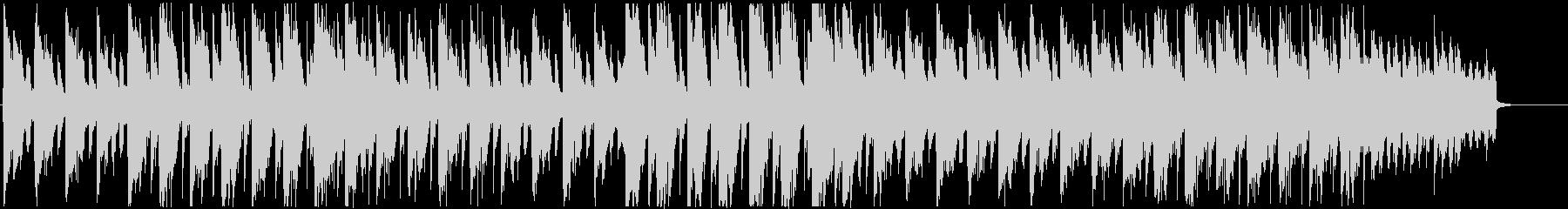 おしゃれで雰囲気のあるハウス風BGMの未再生の波形