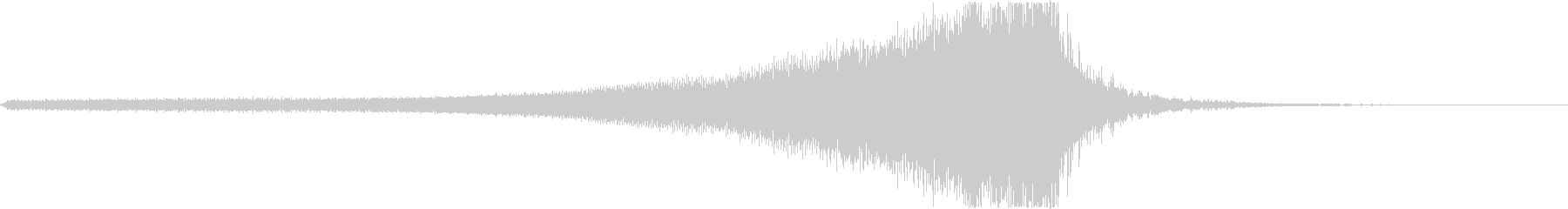 和風ジングル3秒(笙、足拍子、附け打ち)の未再生の波形