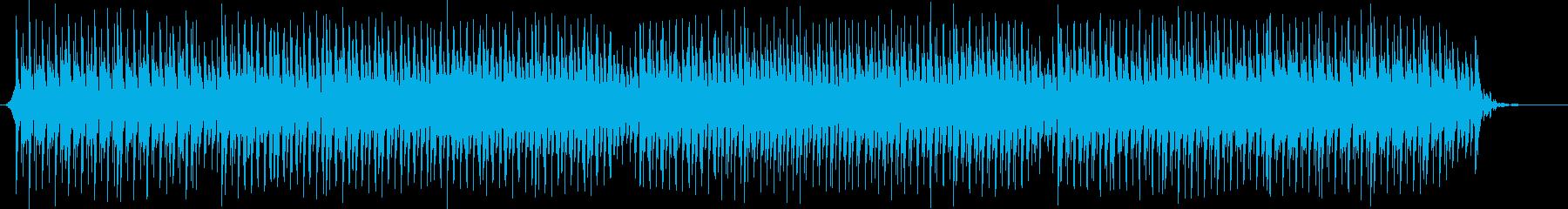 ニュース読みのBGM/四つ打ち/テクノ系の再生済みの波形