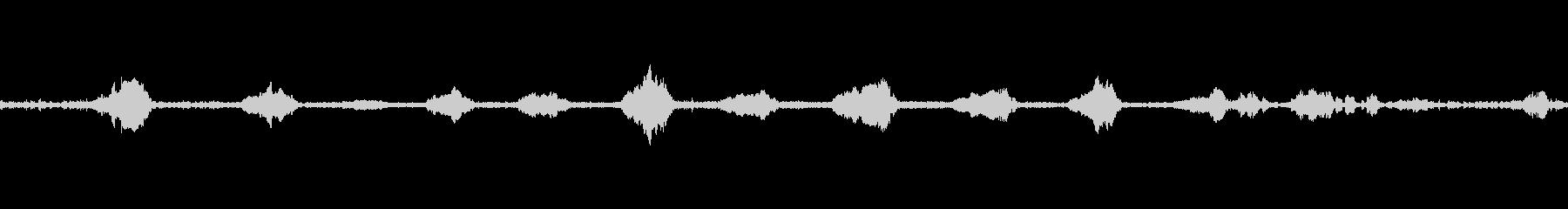 ライオンモアンソロの未再生の波形