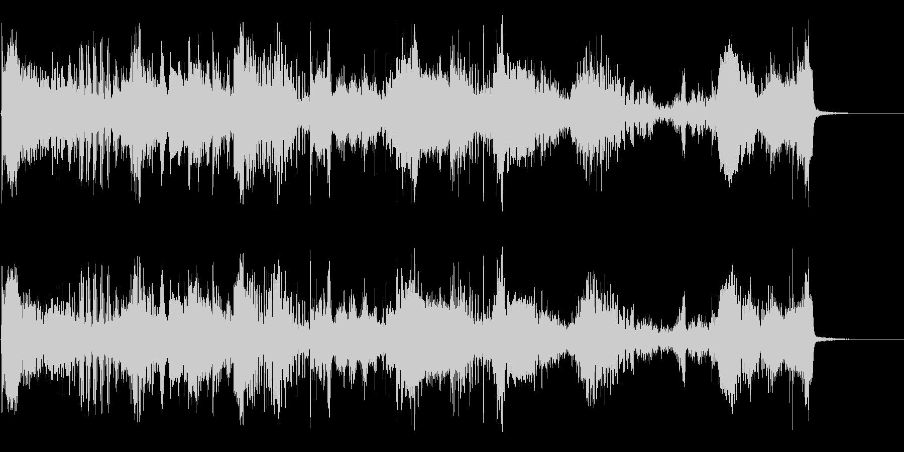 マスコンフュージョンの未再生の波形