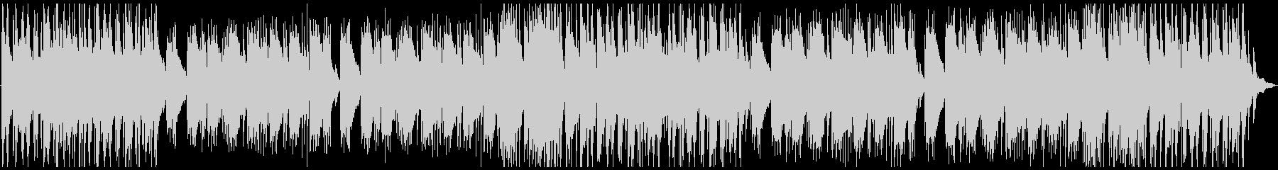落ち着いた浮遊感のあるピアノBGMの未再生の波形