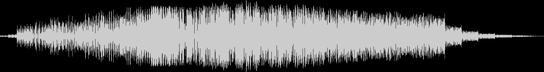 ヘビーランブルへのフィルターパスの未再生の波形