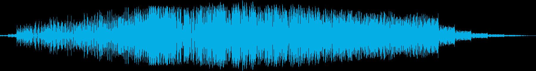 ヘビーランブルへのフィルターパスの再生済みの波形