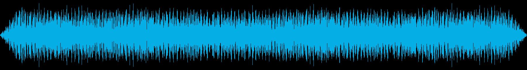 カエルとコオロギの鳴き声【環境音・夏夜】の再生済みの波形