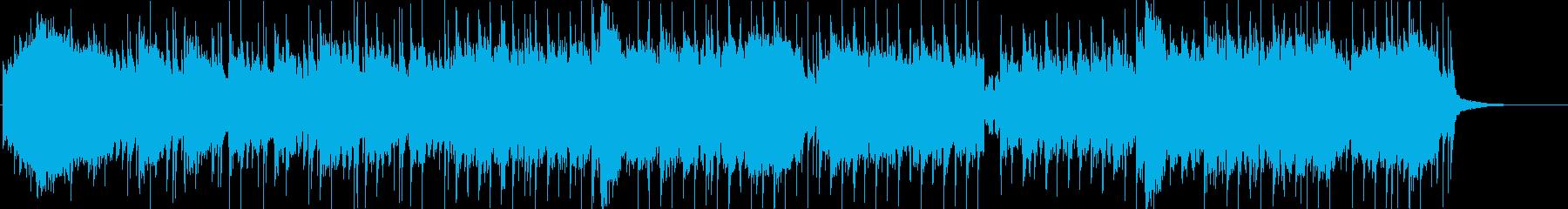 やさしいポップソングの再生済みの波形
