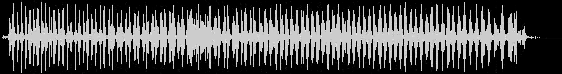 シェーカー:2つのシェーカーファー...の未再生の波形
