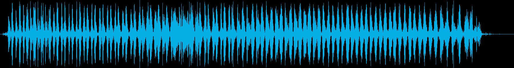 シェーカー:2つのシェーカーファー...の再生済みの波形
