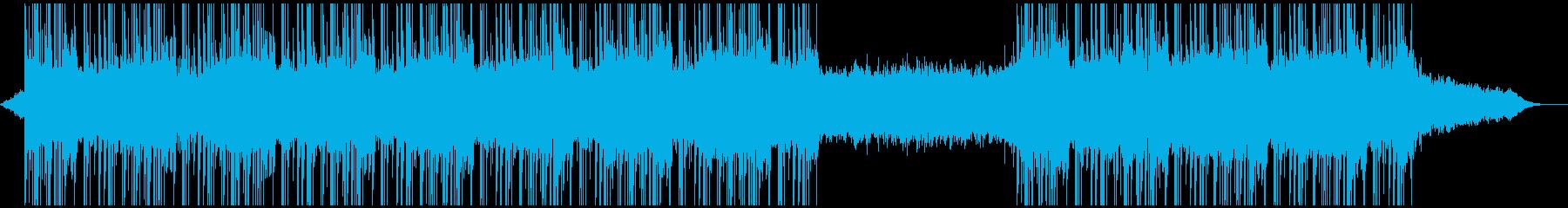 ポップ テクノ アンビエント ダブ...の再生済みの波形