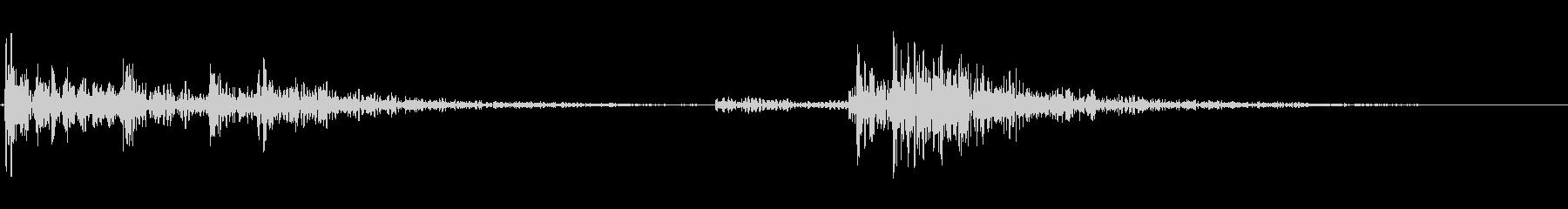 【生録音】ドームカバー・クロッシュの音の未再生の波形