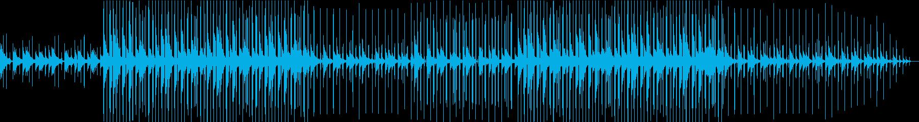 ピアノ 睡眠 LoFi スロー 深夜の再生済みの波形