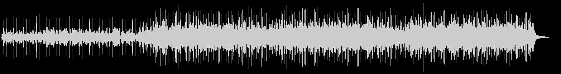 インディーアコースティックポップソングの未再生の波形