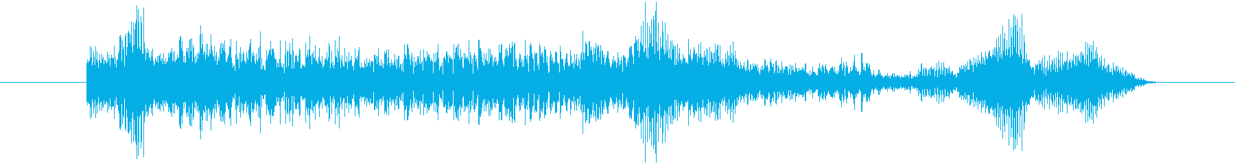 ヤギ Baaingヤギ04の再生済みの波形