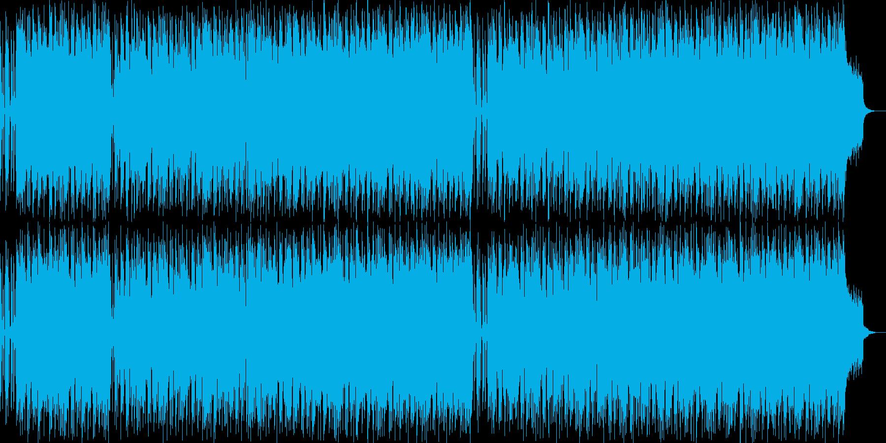 尺八がカッコいい現代的お囃子和風ポップの再生済みの波形