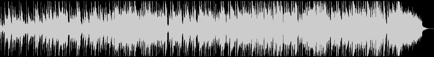 ピアノバンドのご機嫌なスムースジャズの未再生の波形