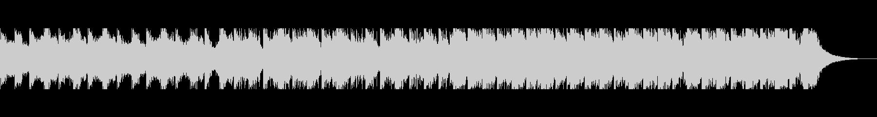 砂漠のキャラバン(90秒)の未再生の波形