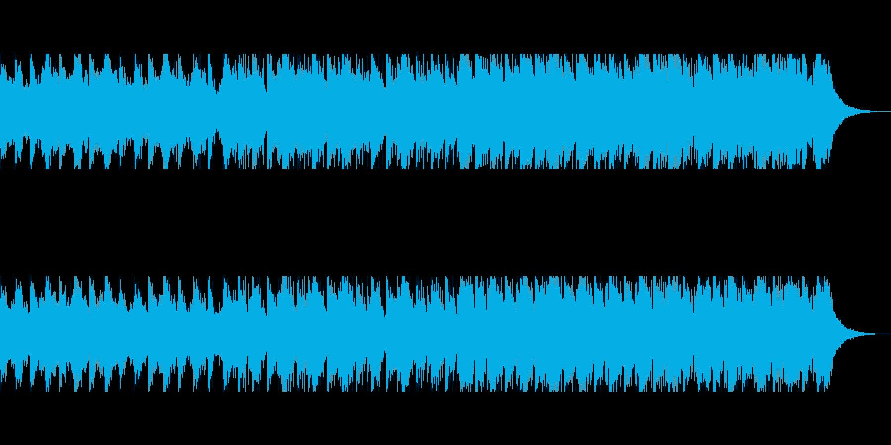 砂漠のキャラバン(90秒)の再生済みの波形