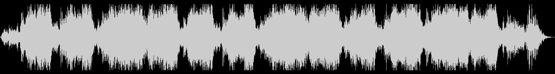 ミステリアスなシネマチックBGMの未再生の波形