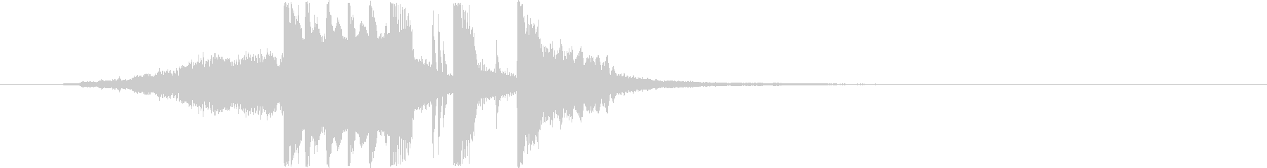 軽快なシンセのジングルの未再生の波形