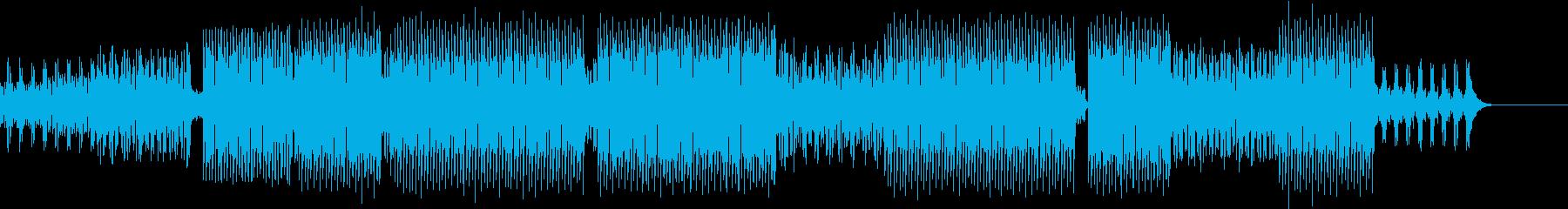 おしゃれなピアノ、ダンスBGMの再生済みの波形