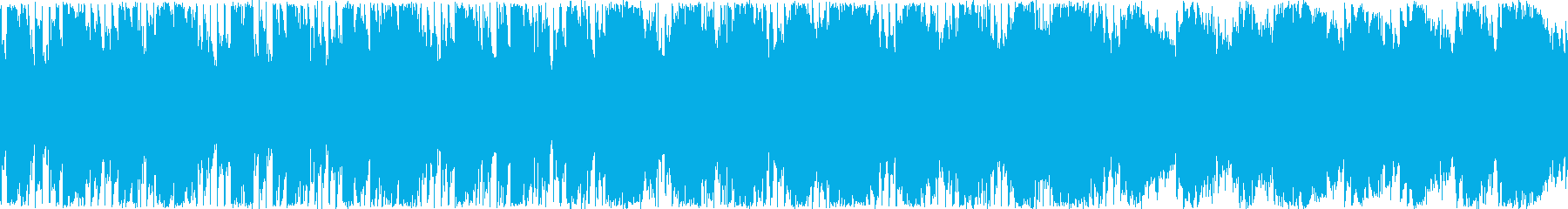 Not too dark but sad electronic music's reproduced waveform