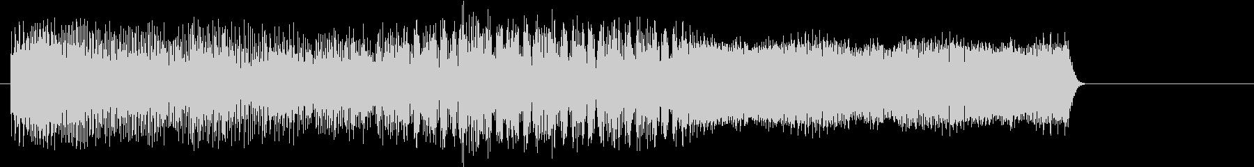 ゲームオーバー ピコピコ音 レトロの未再生の波形
