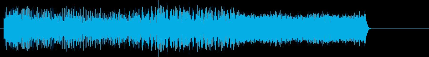 ゲームオーバー ピコピコ音 レトロの再生済みの波形
