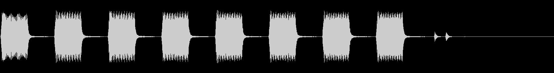 ハマーH1 SUV:EXT:セキュ...の未再生の波形