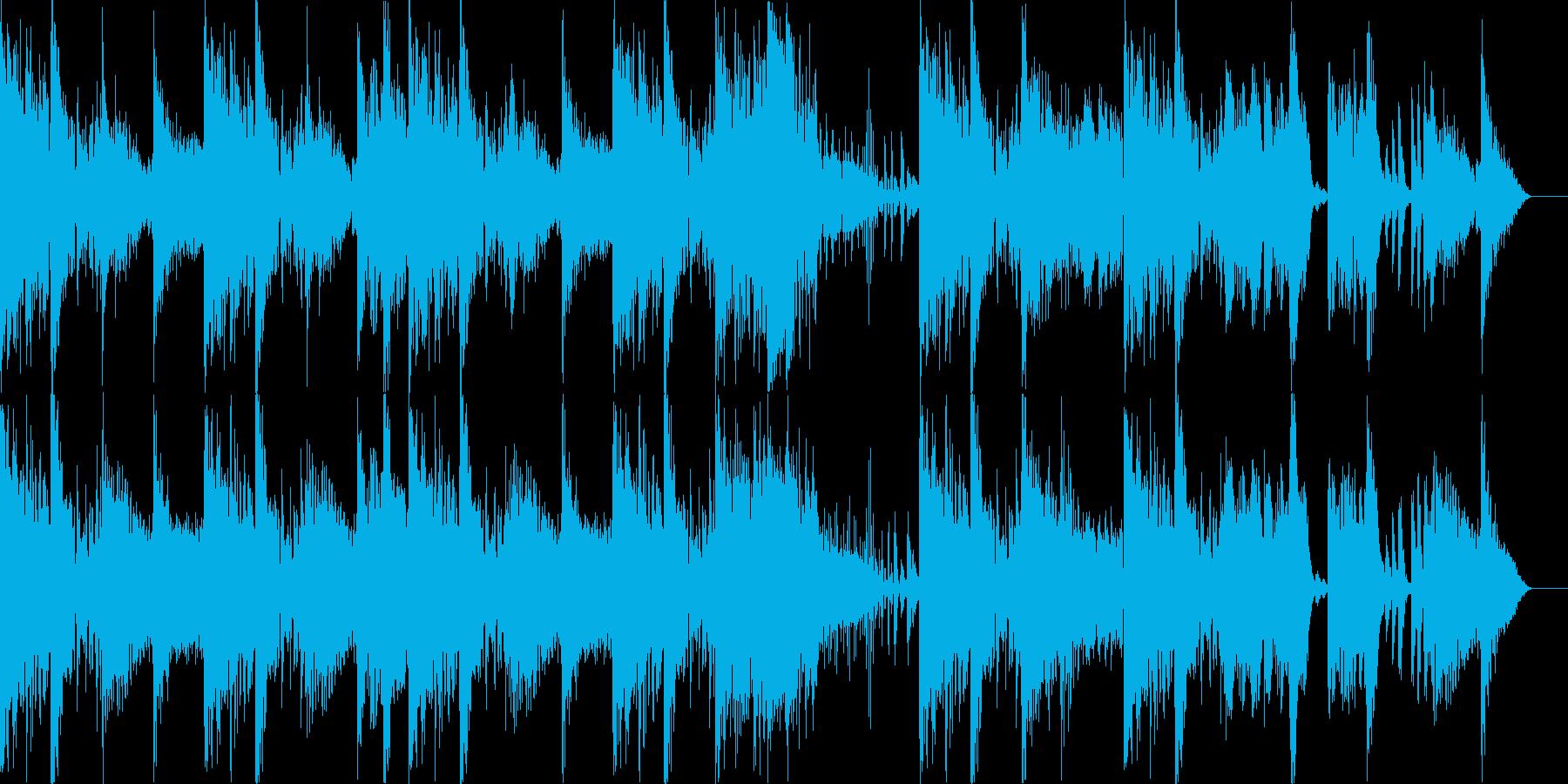 ジングル Angryの再生済みの波形