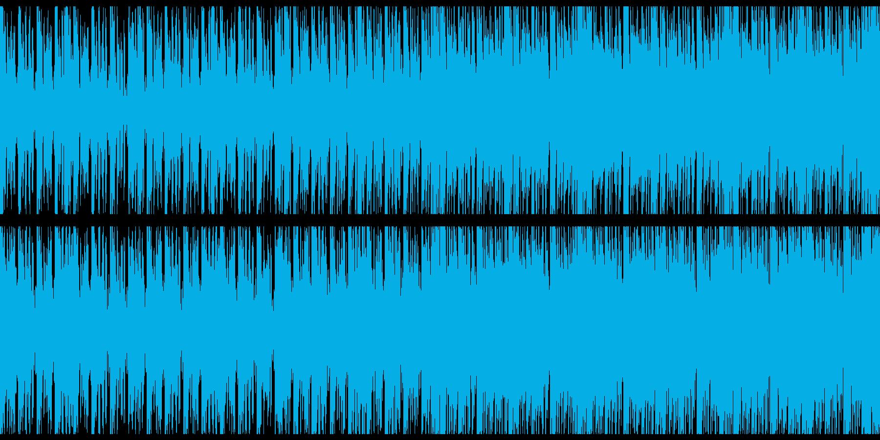 オシャレでほのぼのピコピコした日常曲の再生済みの波形
