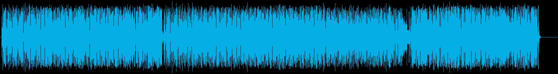 いきいき アウトドア 忙しい 元気 青空の再生済みの波形