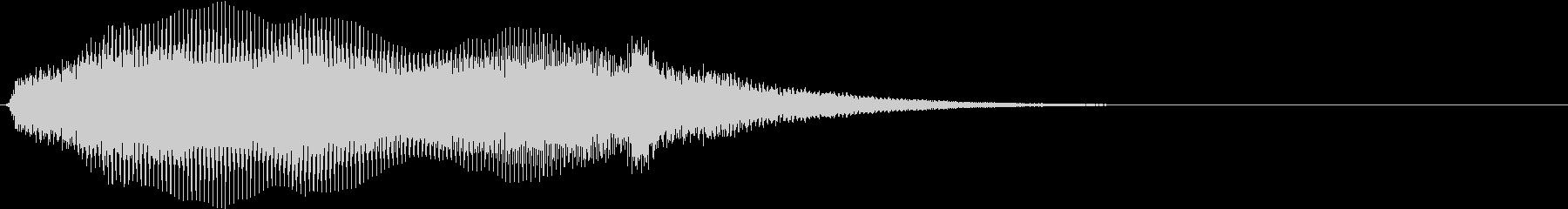ダークな雰囲気_シンセパッド_Dの未再生の波形
