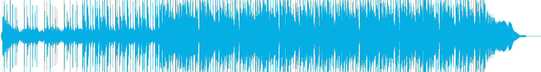 ◎エレピパーカスシンセのチルいビート曲の再生済みの波形