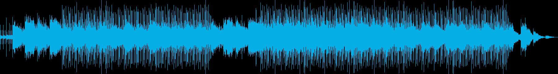 軽快で爽やかなリラックスできる曲です。の再生済みの波形