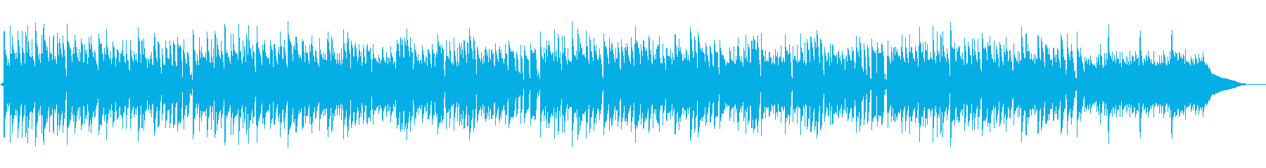 生演奏アコギのポップかわいいカントリー曲の再生済みの波形