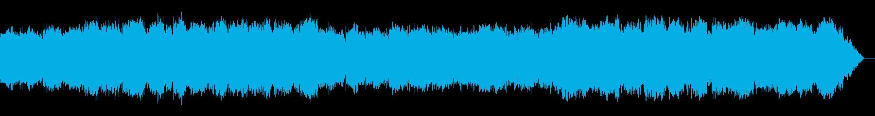 ピアノとシンセと笛のリラックスサウンドの再生済みの波形