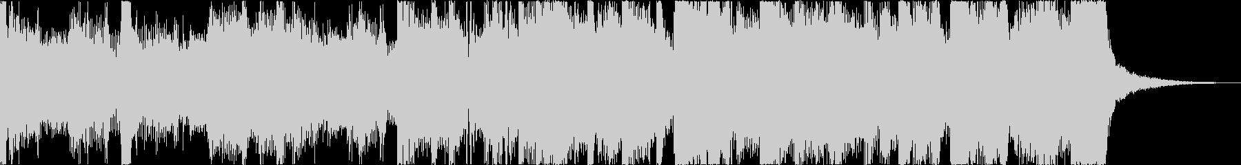 おしゃれレトロディスコシティポップgの未再生の波形