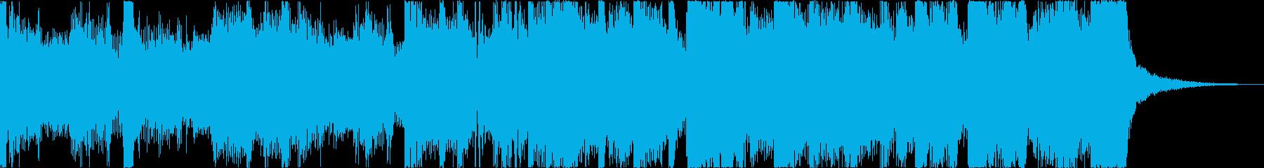 おしゃれレトロディスコシティポップgの再生済みの波形
