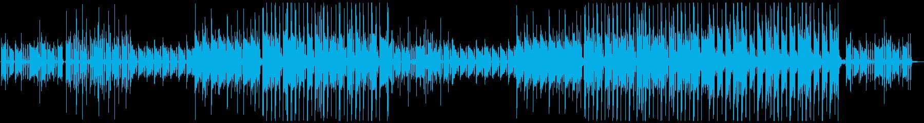 オシャレ感あふれるHipHopの再生済みの波形